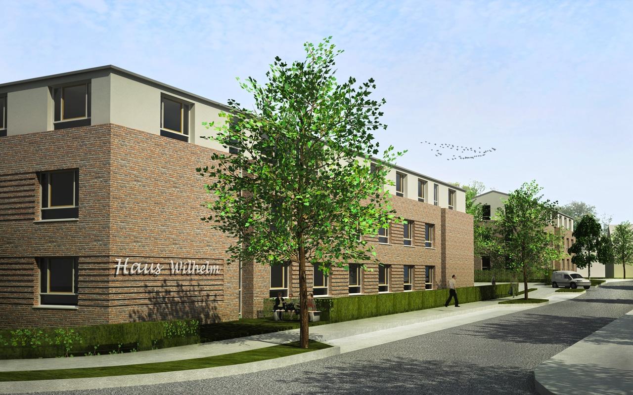 gruppe mdk m nster architekten ingenieure projekte sozialbauten altenpflegeeinrichtung. Black Bedroom Furniture Sets. Home Design Ideas